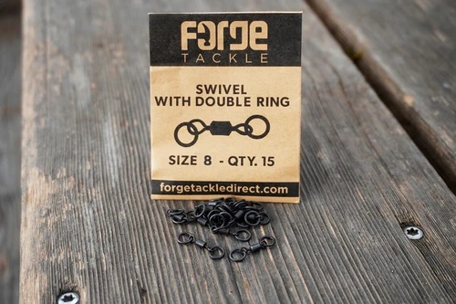 Forge Swivel With Double Ring